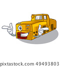 Wink toy locomotive mine in shape characters 49493803