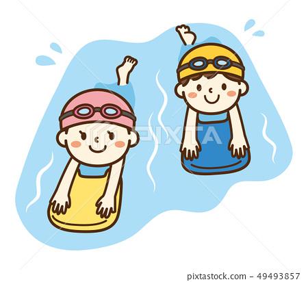어린이 수영 스쿨 49493857