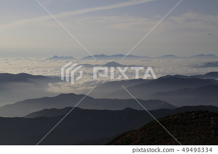 sea of clouds 49498334