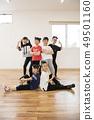 孩子们跳舞教室形象 49501160