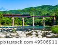 穿越秩父鐵路荒川大橋的SL 49506911