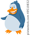 funny penguin bird animal cartoon character 49510832
