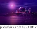 Astronomical observatory telescopes cartoon vector 49511017