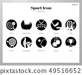 Sport icons solid pack 49516652
