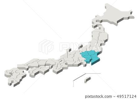 일본지도, 관동 지방, 사시 (Set 1) 49517124