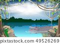 丛林 湖泊 湖 49526269