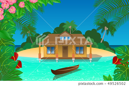 島 房屋 房子 49526502