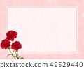 배경 소재 -Mother 's Day- 어머니 날 - 카네이션 49529440