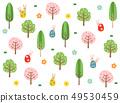 ป่าฤดูใบไม้ผลิ 49530459