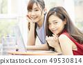 女性商务会议 49530814