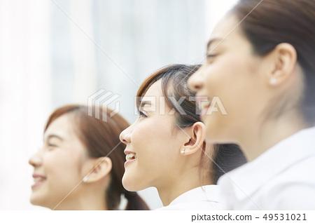 여성 비즈니스 면접 49531021
