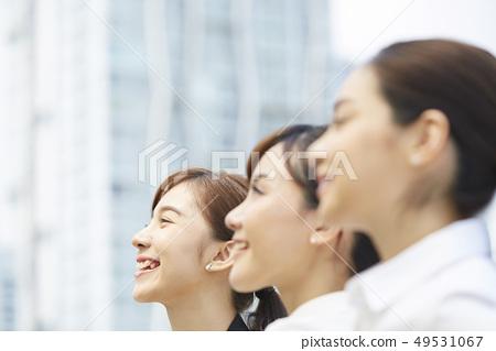 여성 비즈니스 면접 49531067