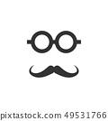 复古 图标 小胡子 49531766
