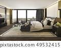 美麗 漂亮 臥室 49532415