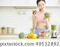 ผู้หญิงมีสุขภาพดี 49532892