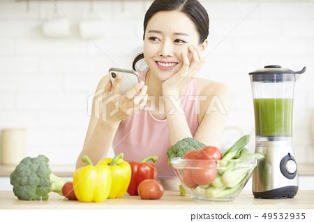 Female healthy 49532935
