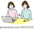 做計算機的中年婦女 49533725