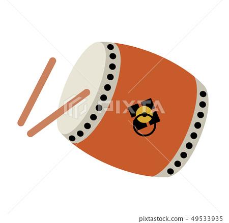 日本鼓图标 49533935