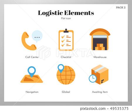 Logistic elements flat pack 49535375
