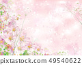 Vector spring floral background. 49540622