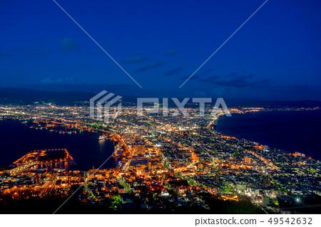 [北海道]函館的夜景 49542632