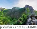 morning in the Valisoara gorge, romania 49544608