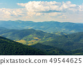 mountains, valleys and ridges of carpathians 49544625