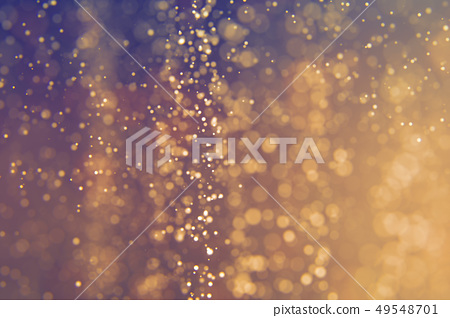 Glitter lights abstract defocused background 49548701