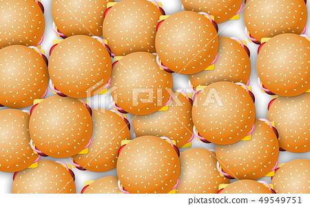 vector, burger, burgers 49549751