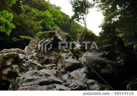 원앙폭포,폭포,계곡,산 골짜기, 49554519