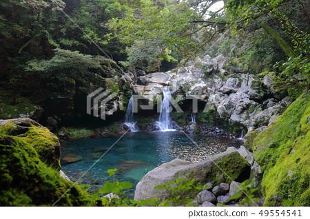 원앙폭포,폭포,계곡,산 골짜기, 49554541