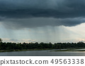 Thunder storm or storm clouds  49563338