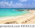 Beautiful Caribbean Sea beach in Playa del Carmen 49565316