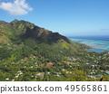 타히티의 바다와 산 49565861