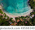 Hiriketiya Beach in Sri Lanka aerial view 49566340