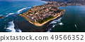 Galle Dutch Fort in Sri Lanka panoramic aerial 49566352