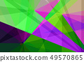 Abstract triangle shape geometric background 49570865