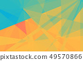Abstract triangle shape geometric background 49570866