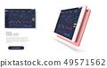 Forex market. Modern design. News and analysis  49571562