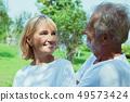 老年的 夫妇 一对 49573424