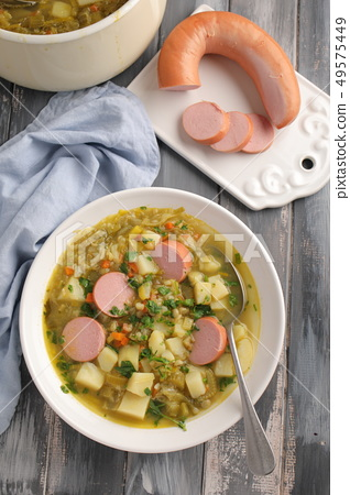 Dutch Split Pea Soup, Erwtensoep 49575449