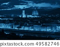 Florence Cathedral skyline night 49582746