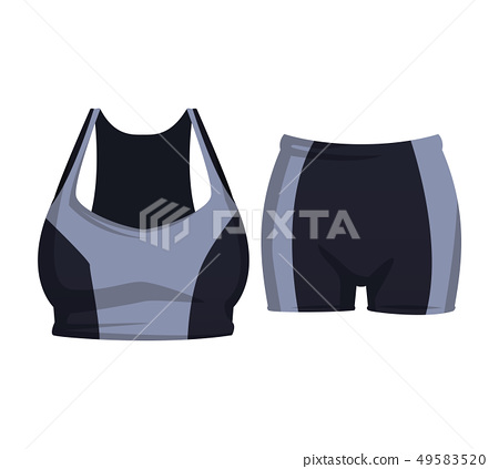 Fitness top and short wear 49583520
