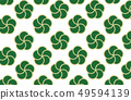 Japanese pattern background material of plum 49594139