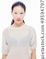 Asian teenager girl beauty portrait 49594797
