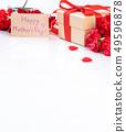母亲节 康乃馨 盒子 カーネーション 大理石 モックアップ 母の日 carnation gift 49596878