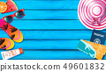 Summer background for advertising 49601832