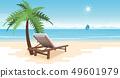 Tropical paradise beach 49601979