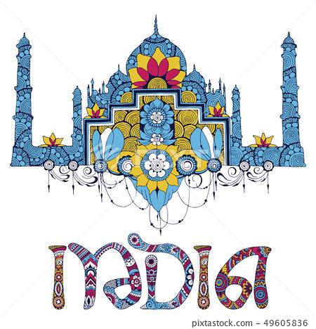 miniature symbolizing India 49605836