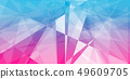 Abstract triangle shape geometric background 49609705